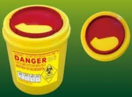 sharp disposal. china disposal sharp container for small glass medical products collection distributor