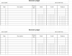 Sample Accounting Ledger Accounting Ledger Template Account Ledger Template