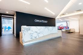 new office designs. Inside OpenText\u0027s New Office In Reading - Officelovin Designs