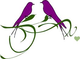 purple love birds clipart. Unique Clipart Purple Love Birds Clipart  Photo11 With Love Birds Clipart R