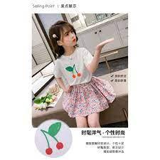 Thời trang bé gái 12 tuổi (3 - 12 tuổi)️ Set Quần Áo Xinh Xắn Dành Cho Bé  Gái️ quần áo bé gái size đại 25kg, 30kg, 35 giá cạnh tranh