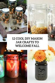 cool diy mason jar crafts to welcome fall cover