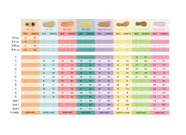 Kids Shoe Size Chart Printable 49 Abiding Child Shoe Width Chart