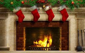 the interesting fireplace animation. Cool Christmas Balls Fireplace The Interesting Animation