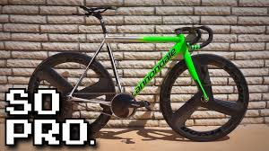 Do You Even Pro? 2014 Cannondale Track | <b>Fixed Gear Bike</b> Check ...