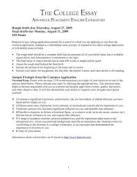 Free College Essay Examples In Pdf How To Write Good