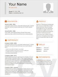 Basic Sample Of Resume Simple Sample Resumes Basic Resume Template24 Conversionmetricsco 19