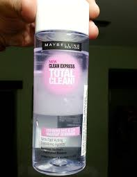 maybelline clean express total clean express eye and lip makeup remover review