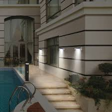 wonderful outdoor solar wall sconce solar powered outdoor wall