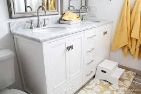 Corniche 75u201d White Double Sink Vanity By Studio Bathe5 Foot Double Sink Vanity