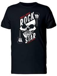 <b>Free Soul Rock Star</b> Tee Men's -Image by Shutterstock – Smartprints