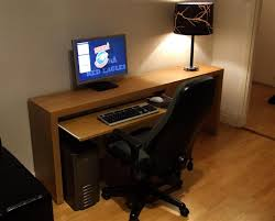 elegant ikea computer desk hack simple wooden computer desk for fabulous and delightful simple