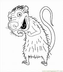 Small Picture Ice Age 004 Coloring Page Free Ice Age Coloring Pages