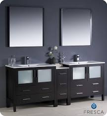 modern bathroom undermount sinks. Fresca Torino 84\ Modern Bathroom Undermount Sinks