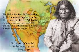 「Indian Geronimo on the last day」の画像検索結果