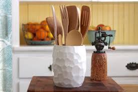 contemporary modern kitchen utensil holder teapot corian sparkling