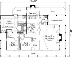 House Plan at FamilyHomePlans comCape Cod Country Farmhouse Ranch Southern Victorian House Plan Level One