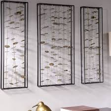 3 piece metal wall decor pictures, brenner hold the latest metal wall art products on most stuff even big lots shop intricate circle metal wall dcor set free shipping on. Madison Park Signature 3 Piece Clement Wall Decor Set Reviews Wayfair