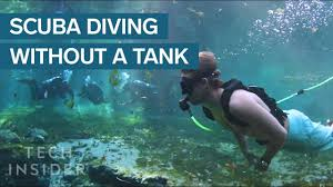 Dive Tank Light This Ultra Light Diving System Makes Scuba Accessible To Anyone