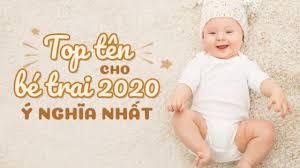 Tên con trai ý nghĩa nhất năm 2020 cho bé yêu của mẹ - Mamamy