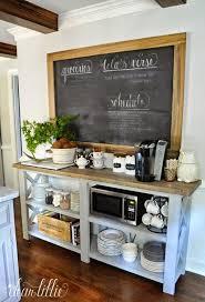 coffee bar. (Image Credit: Dear Lillie Studio) Coffee Bar E
