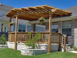 attached covered patio designs. Outdoor:Free Deck With Pergola Plans Design Front Porch Stylish Decks Pergolas Outdoor Covered Patio Attached Designs F