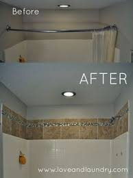 If you have tub/shower surround, this tile project is a quick and easy