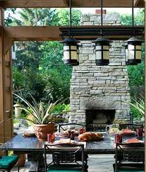 how to build an outdoor fireplace with dry stacked stone