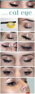 25 best ideas about easy cat eye on perfect cat eyeliner winged eyeliner tricks and perfect cat eye