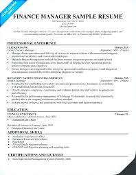 Finance Resume Format Finance Resume Format Beautiful Index Of ...