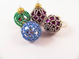 Beaded Christmas Ornaments Patterns Unique Beaded Christmas Ornament Pattern 48 Net Beading Tutorial In PDF On