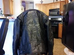 harley davidson reflective willie g skull leather jacket excellent joe 011 jpg