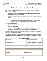 Michigan Registration Fee Chart Fillable Online Michigan See The Optional Flow Chart On Page