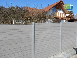 Das Sichtschutzprofil Hei T Mombasa Wpc Sichtschutz Zaun