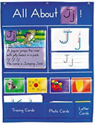 Lakeshore All About Letters Pocket Chart Letter Of The Day