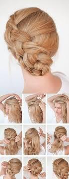 Die Besten 25 Einfache Frisuren Selber Machen Schulterlanges Haar