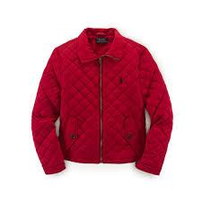 Lyst - Ralph lauren Lightweight Quilted Jacket in Red & Gallery. Women's Quilted Jackets Adamdwight.com