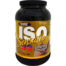 ultimate nutrition iso sensation 93 whey protein 5 lbs