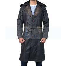 trench coat black male castiel mafia