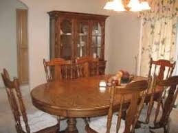 with vintage keller furniture further early american dining room