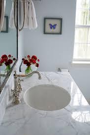white carrera marble countertop