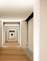 floor lighting hall. Tropical Hall With Parallel Lights On Floor Lighting N