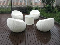 comfortable porch furniture. White Rattan Furniture Outdoor Patio Comfortable Chairs For Small Spaces Egg Chair Porch E