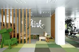 colorful office space interior design. Creative Office Space Ideas Charming Graffiti Clad Minimalist Colorful Interior Design O