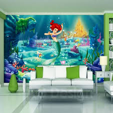 Princess Wallpaper For Bedroom Disney Princess The Little Mermaid Wallpaper Xxl Great
