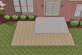 patio pavers over concrete. How To Install Pavers Over Existing Concrete Patio, And Extend Out Patio E