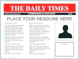 Editable Old Newspaper Template Best Of Editable Old Newspaper Template Poster Free