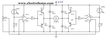 Solar Panel Circuit Design Simple Solar Tracker Circuit Diagram Solar Tracker