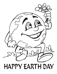 Small Picture Earth Day Coloring Pages