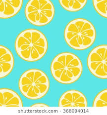 cute fruit wallpaper. Brilliant Wallpaper Cute Seamless Pattern With Yellow Lemon Slices Tasty Summer Background  Yummy Tropical Fruits Endless For Fruit Wallpaper R